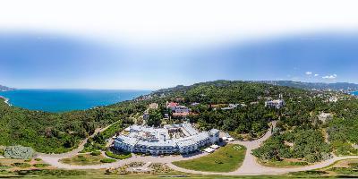 Ялта Ливадийский дворец с высоты