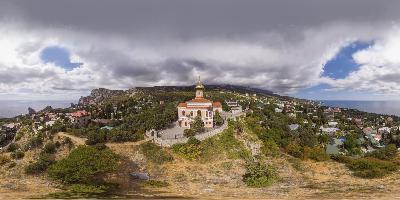 Симеиз Церковь Покрова Пресвятой Богородицы