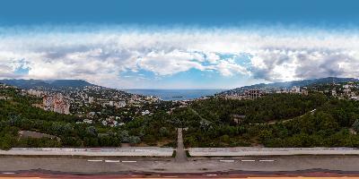 Ялта. Холм Славы аэропанорама 360