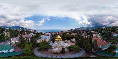 Ялта Храм Александра Невского