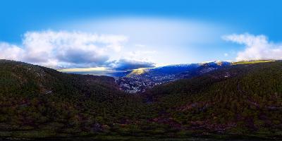 Ялта. Долоссы панорама 360