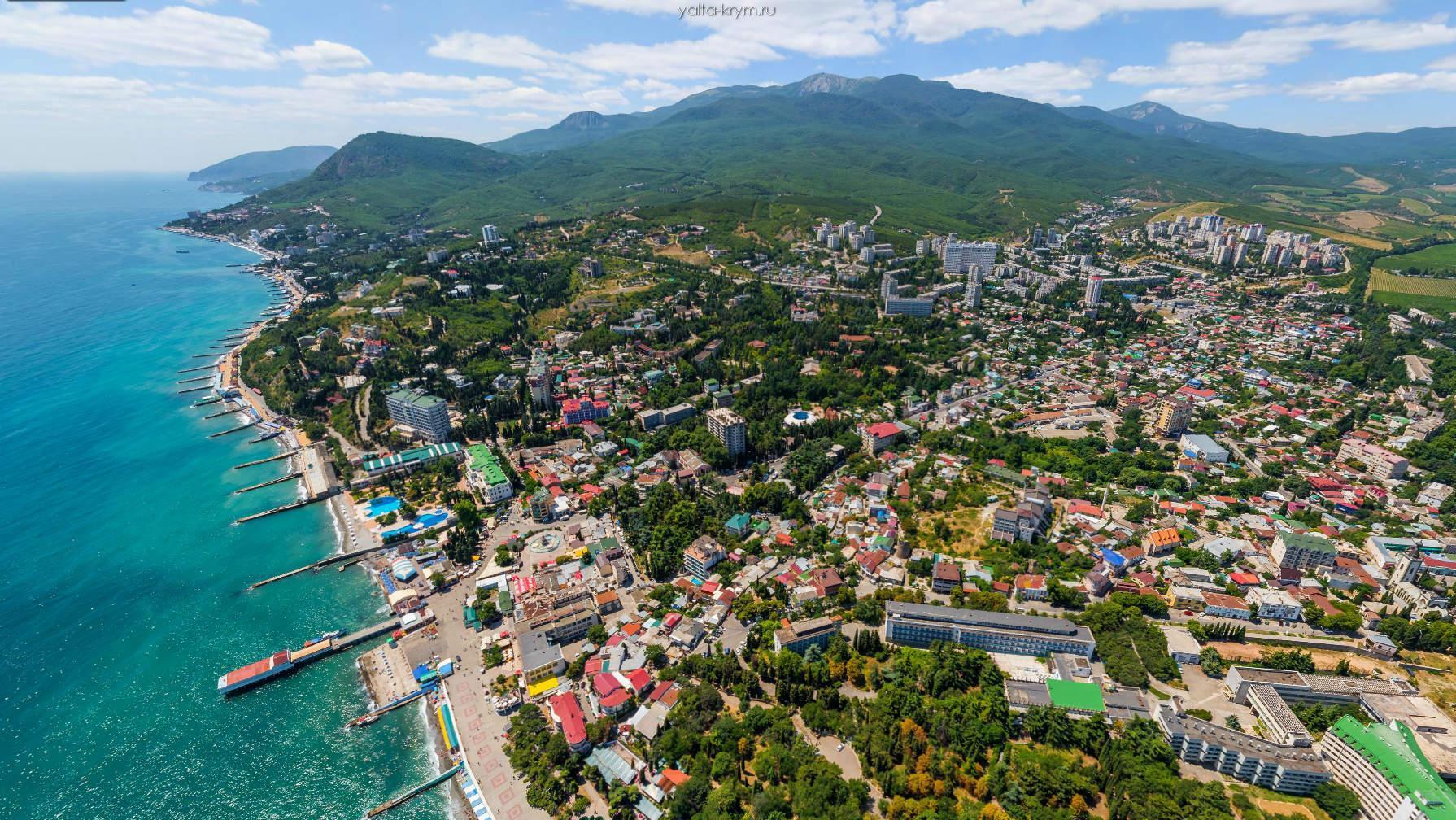 Аэросъемка в Крыму - Ялта